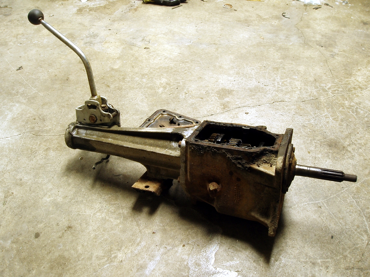 ford 4 speed manual transmission
